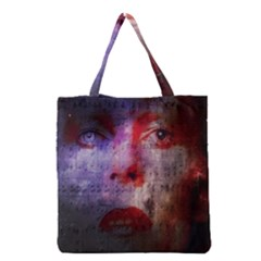 David Bowie  Grocery Tote Bag