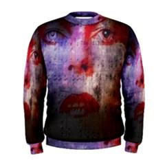 David Bowie  Men s Sweatshirt