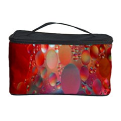 Texture Spots Circles Cosmetic Storage Case