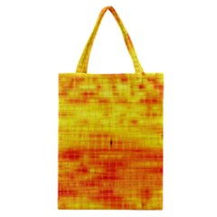 Bright Background Orange Yellow Classic Tote Bag