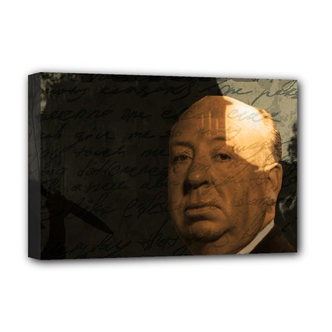 Alfred Hitchcock - Psycho  Deluxe Canvas 18  x 12