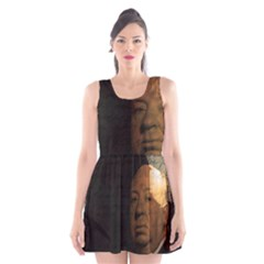 Alfred Hitchcock - Psycho  Scoop Neck Skater Dress