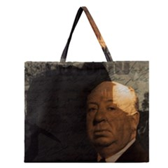 Alfred Hitchcock - Psycho  Zipper Large Tote Bag