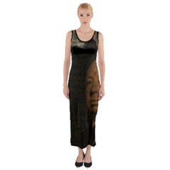 Alfred Hitchcock - Psycho  Fitted Maxi Dress