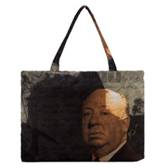 Alfred Hitchcock - Psycho  Medium Zipper Tote Bag