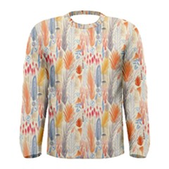 Repeating Pattern How To Men s Long Sleeve Tee
