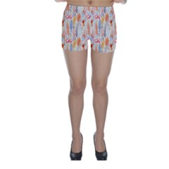 Repeating Pattern How To Skinny Shorts