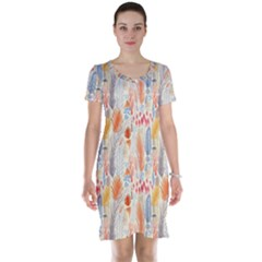 Repeating Pattern How To Short Sleeve Nightdress