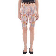 Repeating Pattern How To Yoga Cropped Leggings