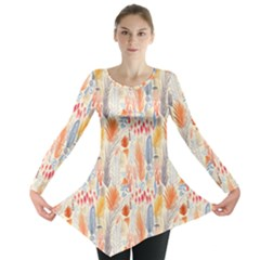 Repeating Pattern How To Long Sleeve Tunic