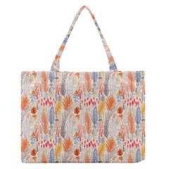 Repeating Pattern How To Medium Zipper Tote Bag