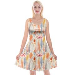 Repeating Pattern How To Reversible Velvet Sleeveless Dress
