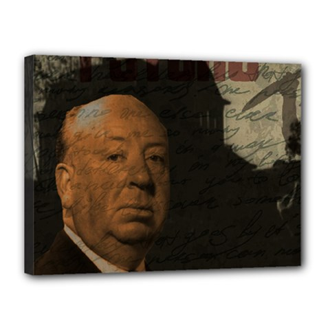 Alfred Hitchcock - Psycho  Canvas 16  x 12