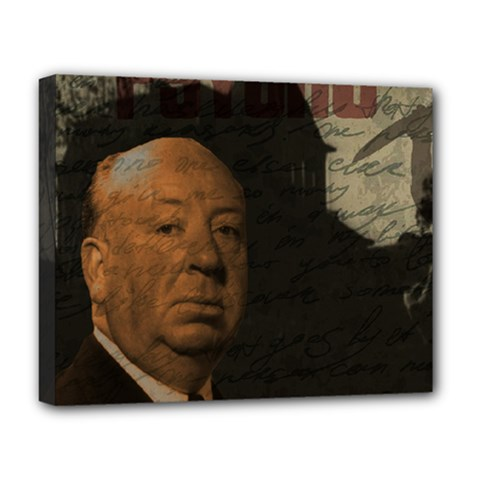 Alfred Hitchcock - Psycho  Deluxe Canvas 20  x 16