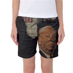 Alfred Hitchcock - Psycho  Women s Basketball Shorts