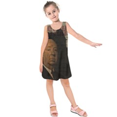 Alfred Hitchcock - Psycho  Kids  Sleeveless Dress