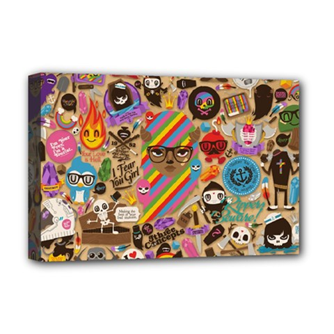 Background Images Colorful Bright Deluxe Canvas 18  x 12