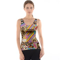 Background Images Colorful Bright Tank Top