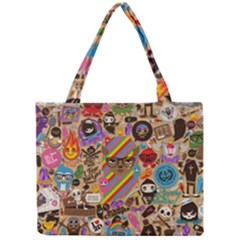 Background Images Colorful Bright Mini Tote Bag