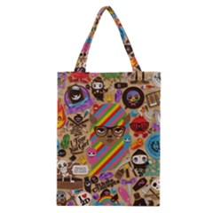 Background Images Colorful Bright Classic Tote Bag