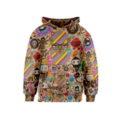 Background Images Colorful Bright Kids  Pullover Hoodie