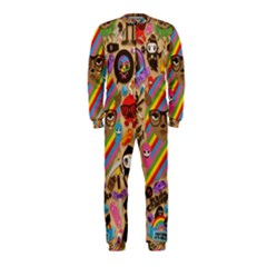 Background Images Colorful Bright OnePiece Jumpsuit (Kids)