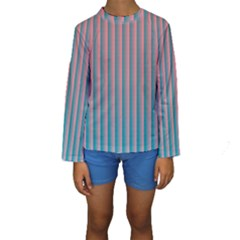 Hald Simulate Tritanope Color Vision With Color Lookup Tables Kids  Long Sleeve Swimwear