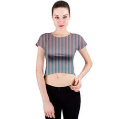 Hald Simulate Tritanope Color Vision With Color Lookup Tables Crew Neck Crop Top