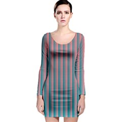 Hald Simulate Tritanope Color Vision With Color Lookup Tables Long Sleeve Bodycon Dress