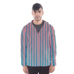 Hald Simulate Tritanope Color Vision With Color Lookup Tables Hooded Wind Breaker (men)