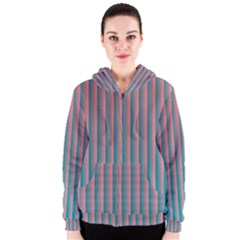 Hald Simulate Tritanope Color Vision With Color Lookup Tables Women s Zipper Hoodie