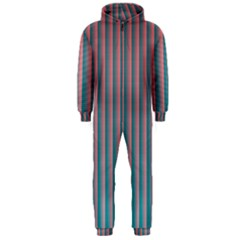 Hald Simulate Tritanope Color Vision With Color Lookup Tables Hooded Jumpsuit (Men)