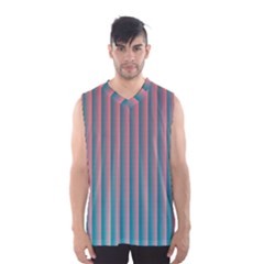 Hald Simulate Tritanope Color Vision With Color Lookup Tables Men s Basketball Tank Top