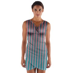 Hald Simulate Tritanope Color Vision With Color Lookup Tables Wrap Front Bodycon Dress