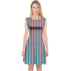 Hald Simulate Tritanope Color Vision With Color Lookup Tables Capsleeve Midi Dress