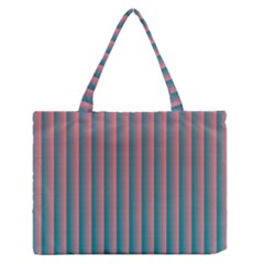 Hald Simulate Tritanope Color Vision With Color Lookup Tables Medium Zipper Tote Bag