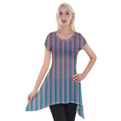 Hald Simulate Tritanope Color Vision With Color Lookup Tables Short Sleeve Side Drop Tunic