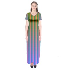 Hald Identity Short Sleeve Maxi Dress
