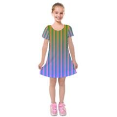 Hald Identity Kids  Short Sleeve Velvet Dress