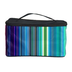 Color Stripes Cosmetic Storage Case