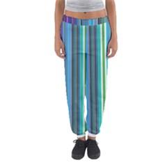 Color Stripes Women s Jogger Sweatpants