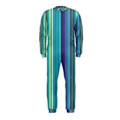 Color Stripes OnePiece Jumpsuit (Kids)