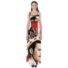 Freddie Mercury Empire Waist Maxi Dress