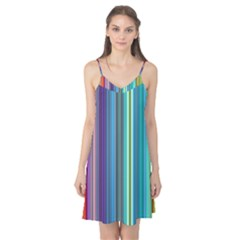 Color Stripes Camis Nightgown