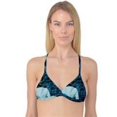 Audrey Hepburn Reversible Tri Bikini Top