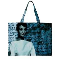 Audrey Hepburn Large Tote Bag