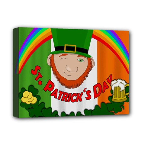 St. Patricks day  Deluxe Canvas 16  x 12