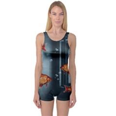 Natural habitat One Piece Boyleg Swimsuit
