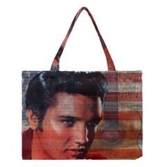 Elvis Presley Medium Tote Bag