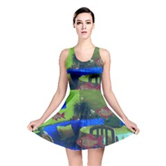 Natural habitat Reversible Skater Dress